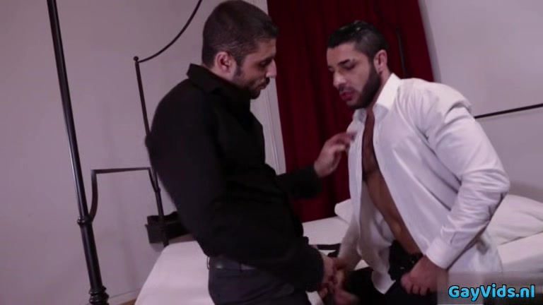 Hairy gay anal sex with swallow nerdy bitches getting fucked