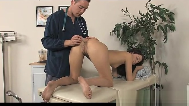 slut gets more than she thought with her doctor milf fucking big boys