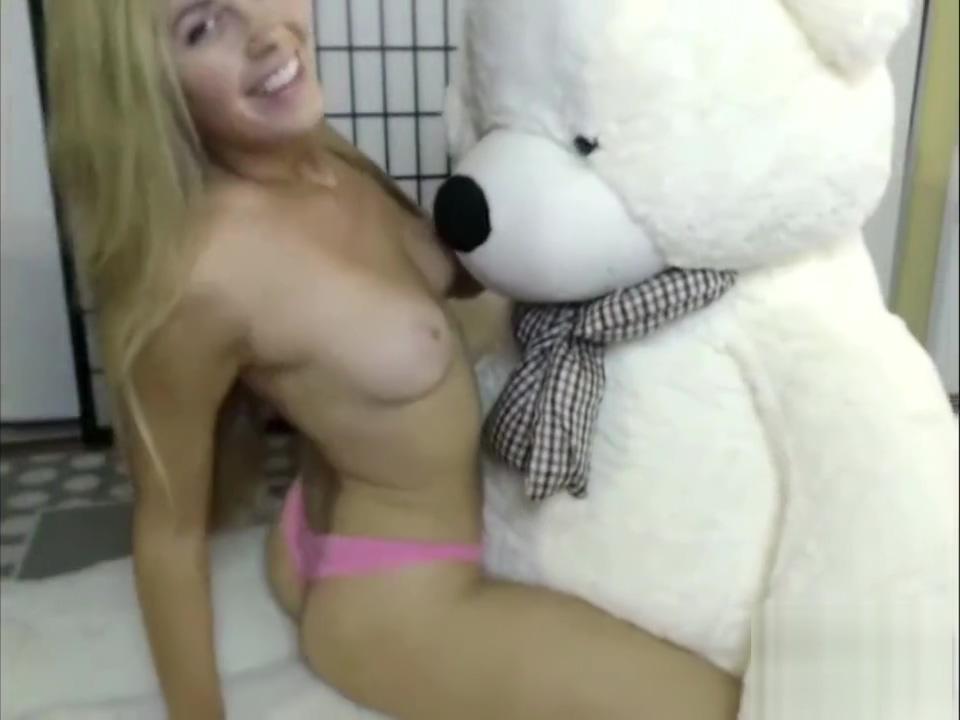 Gf fucking teddy bear