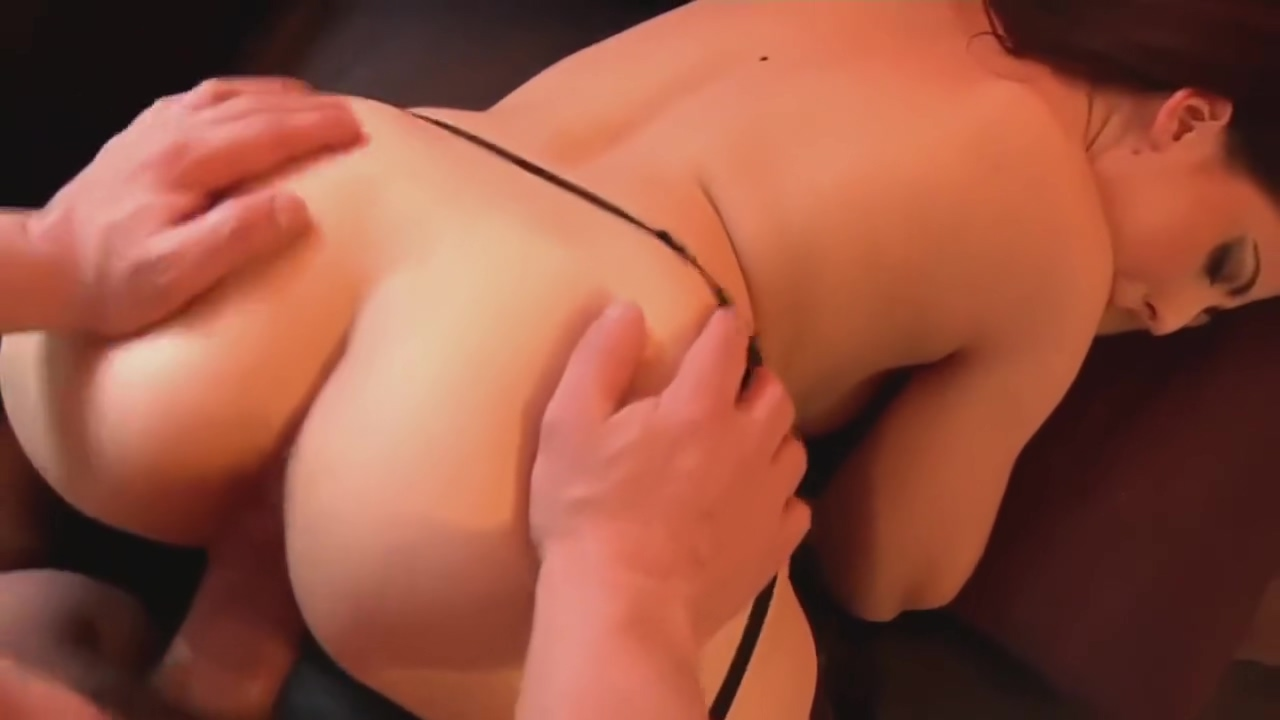 hot french brunette encoragement to fuck POV Sexy thong lingerie