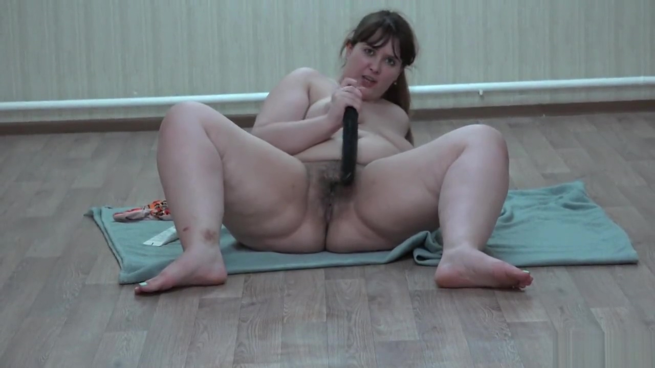 Young pretty bbw with big ass, fucking with dildo Russian Midget Porn