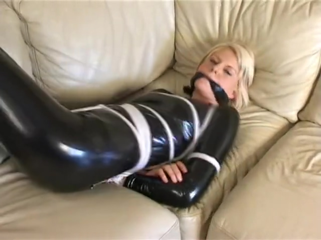 Latex rope bound sex video online now