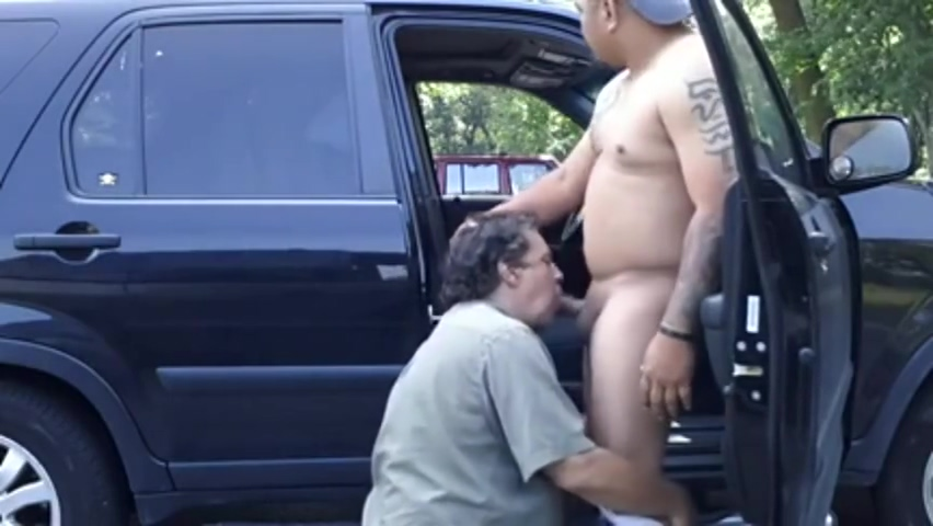 Pinoy daddy bear got sucked in the car alyse moto girl porn actress