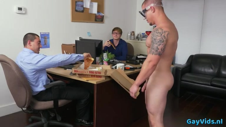 Muscle gay threesome and facial Shes got a boner dvd tranny
