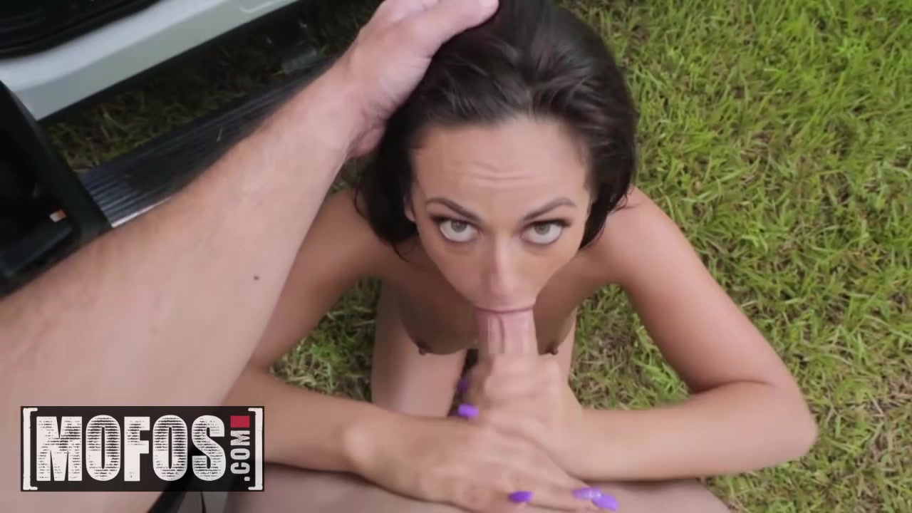 MOFOS - Stranded Teens - Kiki Klout - Teen Spinners Phone Sex Goes Viral