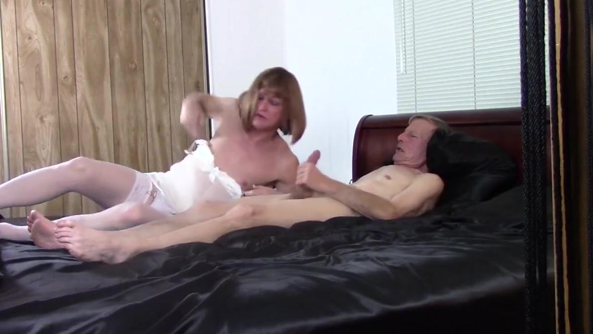 Passionate mature tranny. real wife humiliation sex