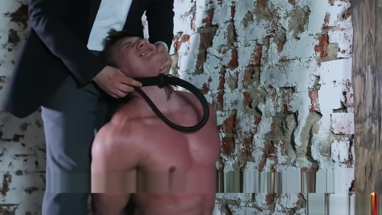 hunk on his knees flogged hands tied behind back - muscle interrogation Free big boobs real girls