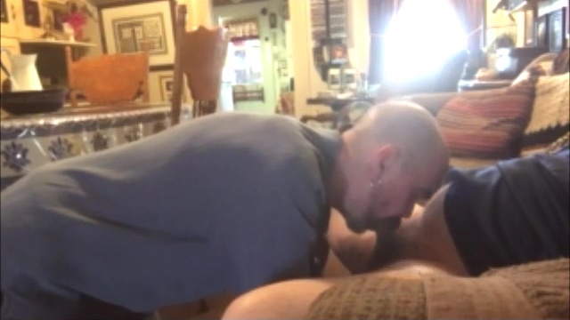 Me Giving the Cable Guy a 20 Minute Blowjob Bubble butt panty sex