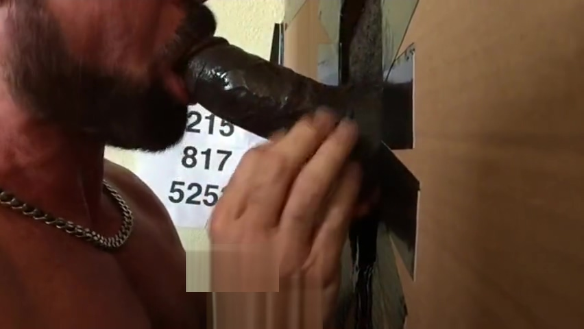 Black Beercan Cock Serviced at Philadelphia Gloryhole this aint sex by usher