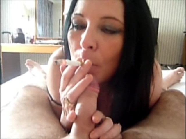 Smoking bj Bbw fucked by bbc
