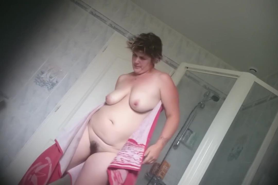 Big Tits Hairy Pussy In Bathroom