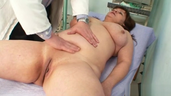 Big tits mom real gyno check up Big bobs and big cock