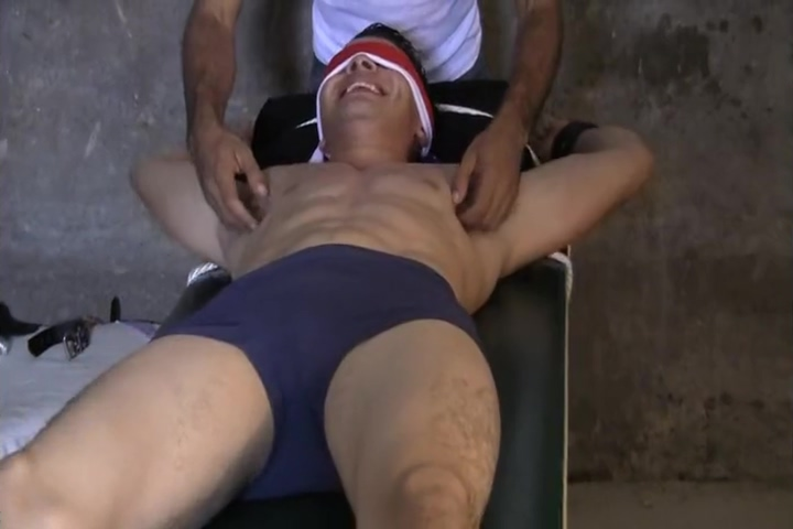 Hector Tickled and Stripped fully nude black women having lesbian sex