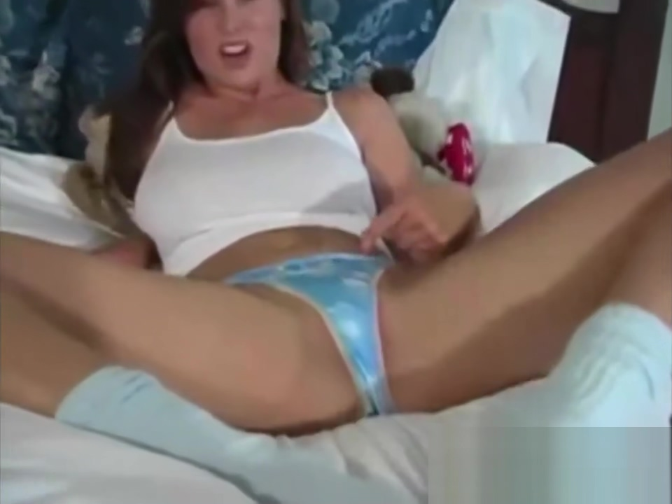 Busty Brunette Shows Off Her Used Panties Milf too