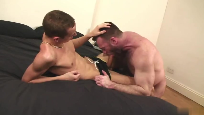 Manly stud ramms twinks tight butt after he licks it Gay men in leotards