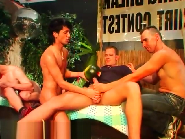 Gay group foot sex xxx emo party CUM RACE! Brady and britt dating