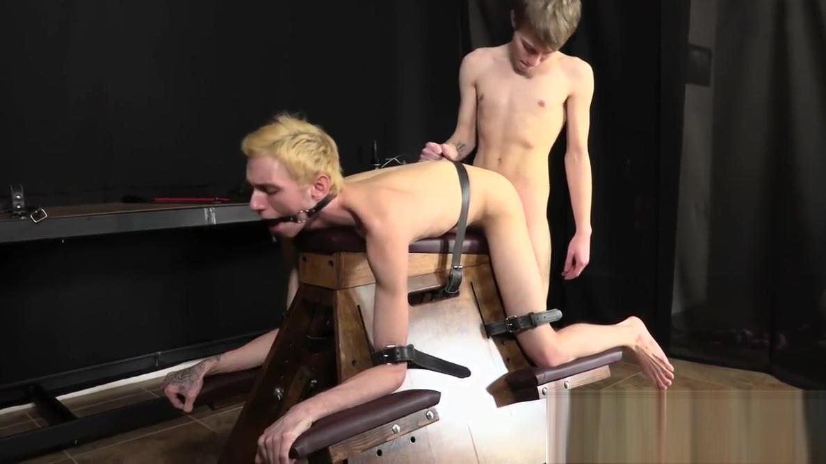 Skinny Justin Stone raw fucked after BDSM spanking Dirty fantasy talk