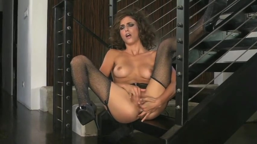 Malena Morgan fingers herself to orgasm Nice tits all naked