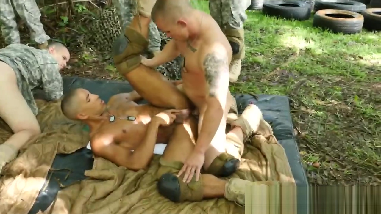 Black military dude fucked hard by white soldier Darlene Amaro porn