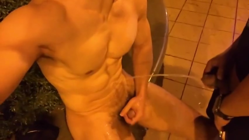 Hot Asian Public Group Piss Jock strap gay sex rugby