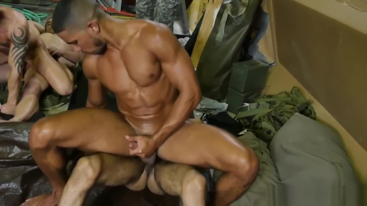 Military Guys Kissing Gay Fight Club cum in sisters drinks