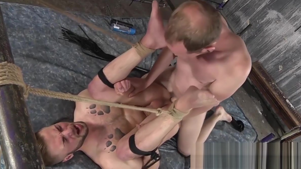 Tied up submissive guy endures whipping and ass fucking hot pics kissing couple