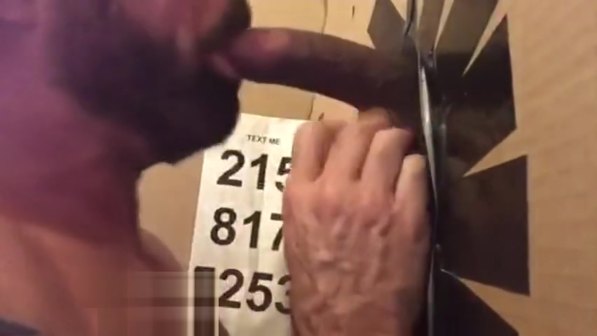 White Muscle Swallows Young Black at Philly Gloryhole black female porn pictures