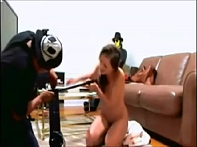 Brazilian Compilation Of Flashing Delivery Guy