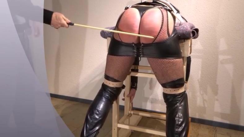 Crossdresser Spanking a for ass b for boobs