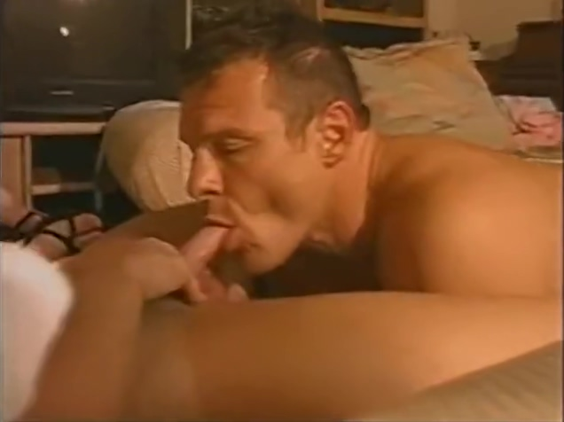 My Hot Sexy Gay Friend Joins Me And Wift in Bed Handjob during exercise class