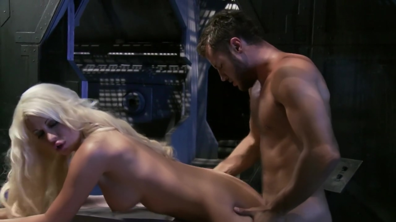 Jazy Berlin & Cassandra Cruz in Lust in Space Big busty topless