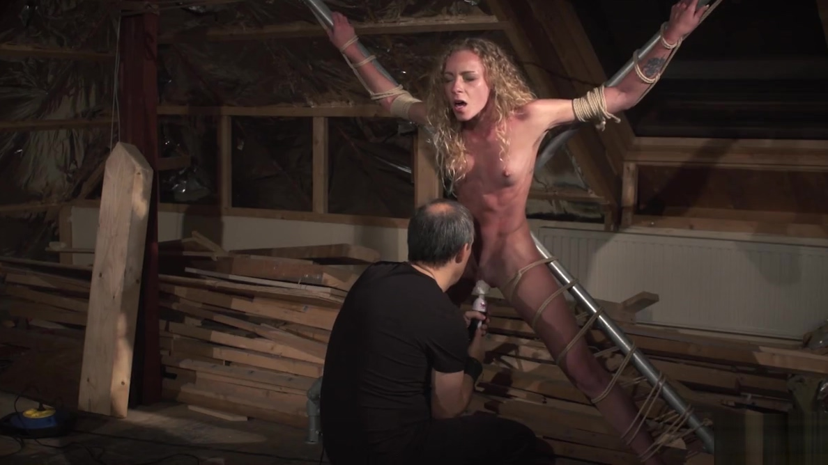 Teen slave takes rough kinky punishment from her bondage max