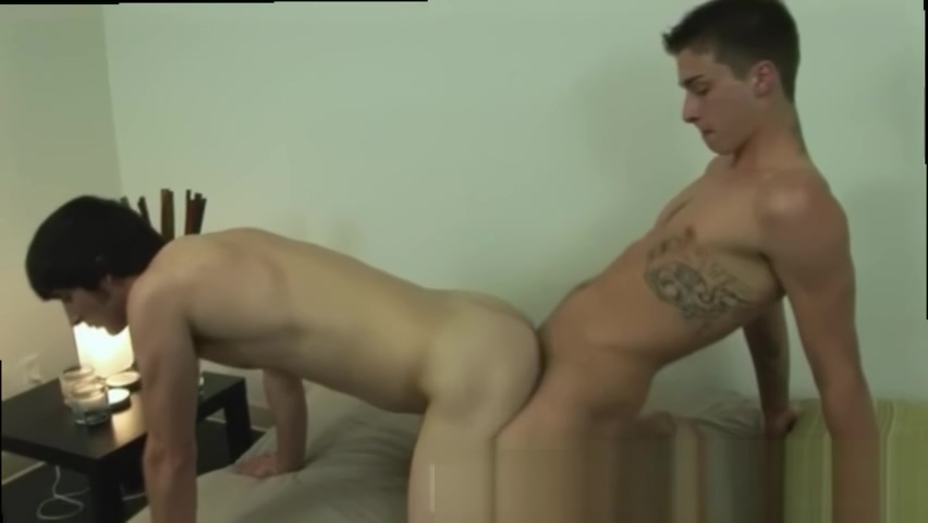 Double penetration jacking off porn movies and gay porn begging for cum Short small boob girl