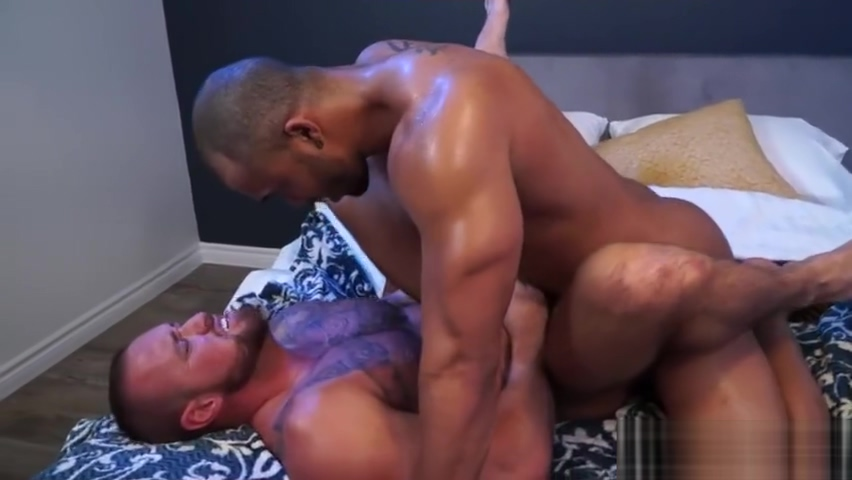 Muscle bear anal sex with facial cum Mom gets horny fucks son