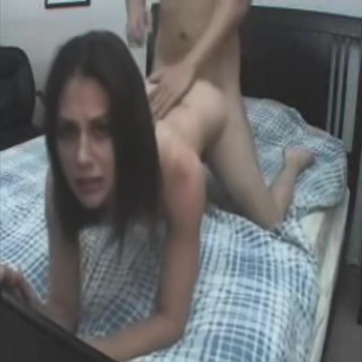 Amateur couple rough sex
