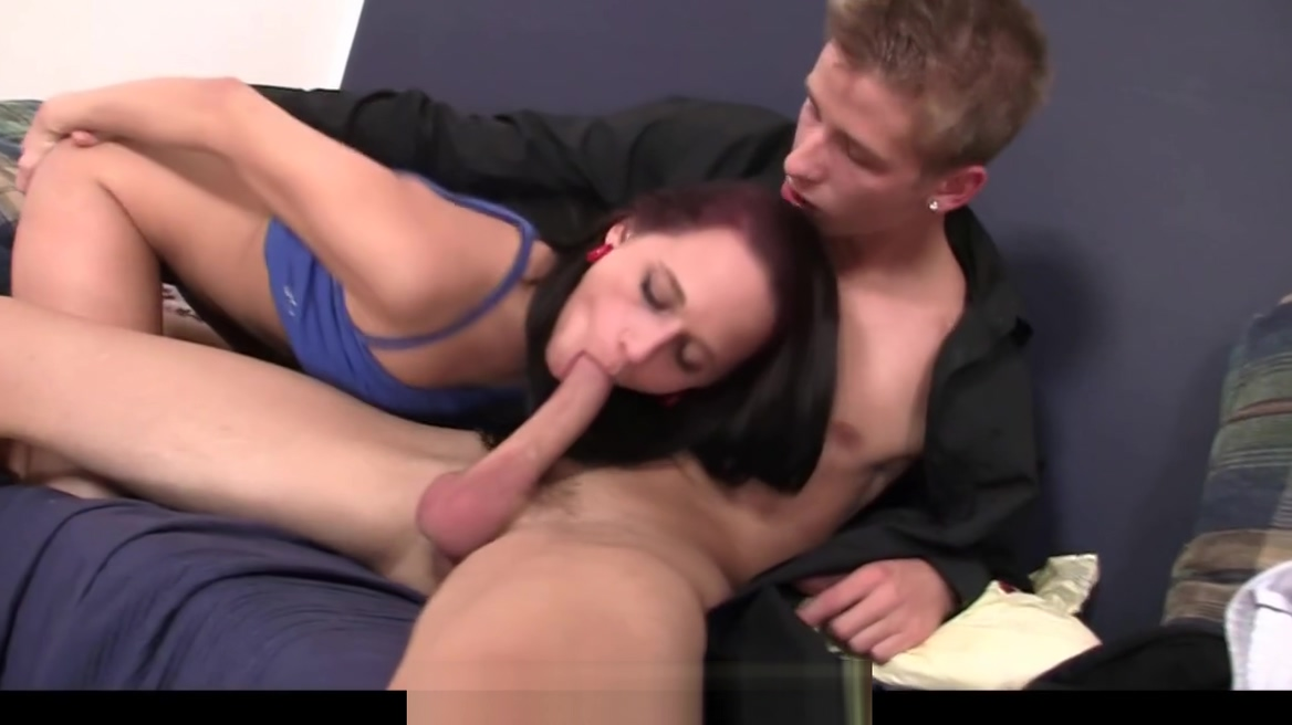 His cheating girlfriend spreads legs for him