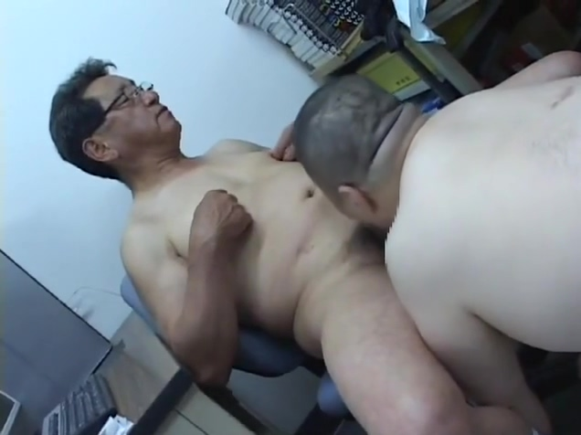 Japanese old man 359 porn sex blow job