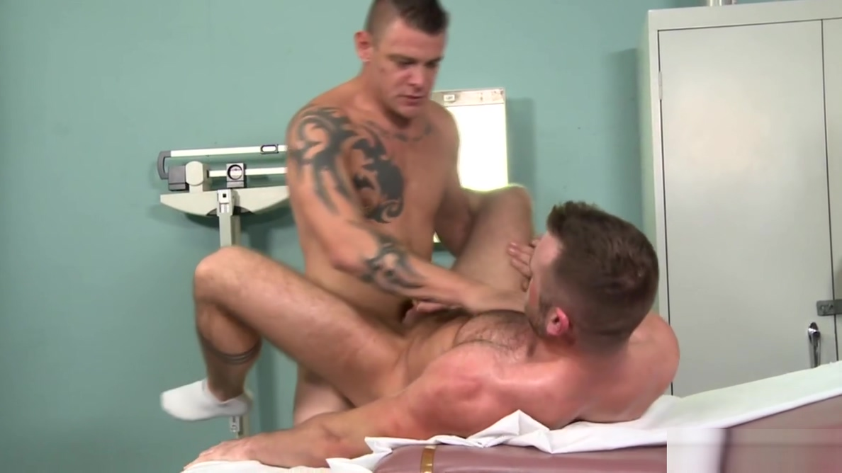 MenOver30 Big Dick Daddy Doctor Knows How 2 Cure His Patient Axm sexy sharp gay