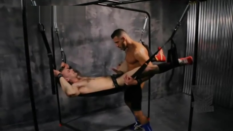 FX Rios, Kyle Kash, and the FORT TROFF SLING STAND - PLAYA KIT Anorexic nude asian women