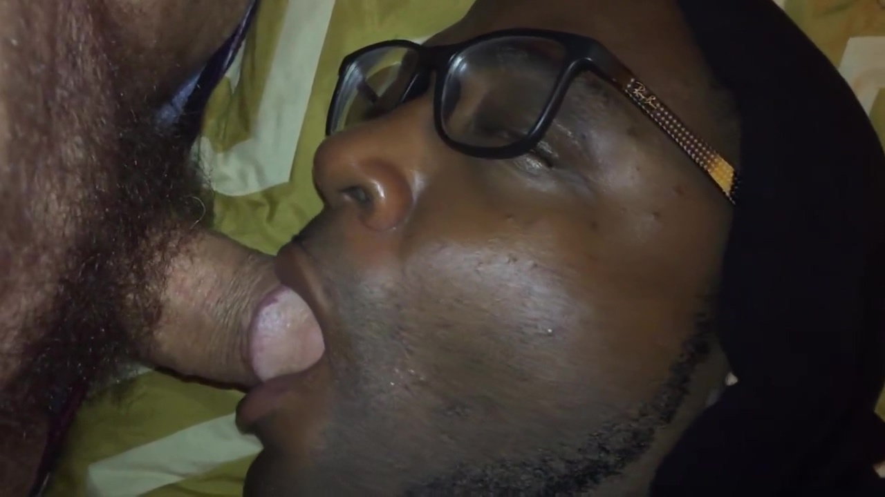 Hungry black cocksucker at motel nursing my white cock straight bi sexual women
