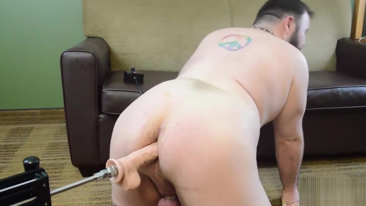 Dean Gauge Gets Machine Fucked Chubby mature with big boobs dance