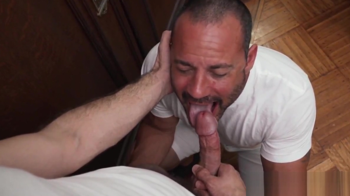 Muscular Mormon homo sucks dick before cumming from bareback Large screaming orgasm