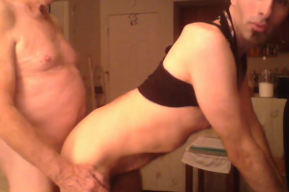 An elderly man having fun with a young man Large nipple photos