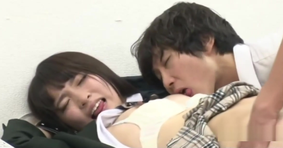 Hinagiku Tsubasa Caught Shoplifting Taken To the Office Sexy college girl Caught Masturbating