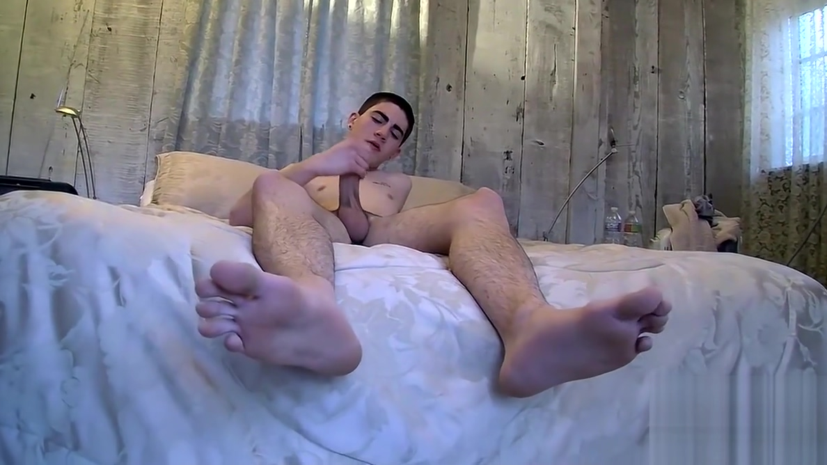 Thought provoking twink plays with feet and masturbates Best date ideas ever