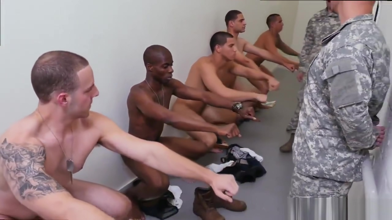 Hard core gay sex older men Yes Drill Sergeant! Not spank the monkey