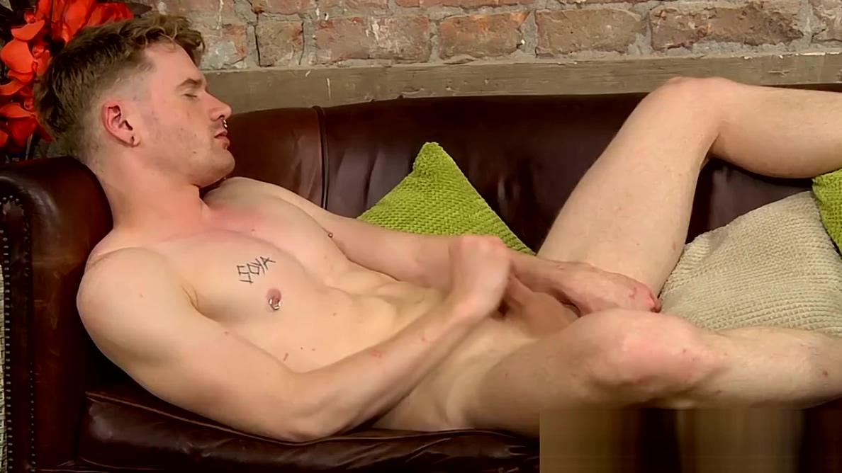 Blond jock Sebastian Evans shoots jizz after solo wank completely free porn download