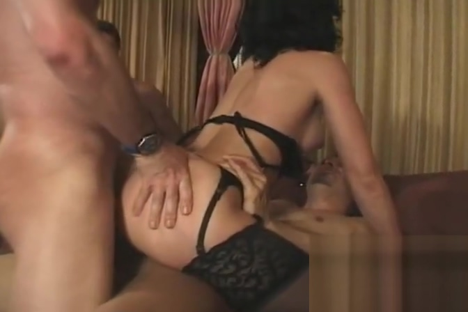 Young succubi Vlasta taken care off in DP spitroast session Free Mature Housewife Porn