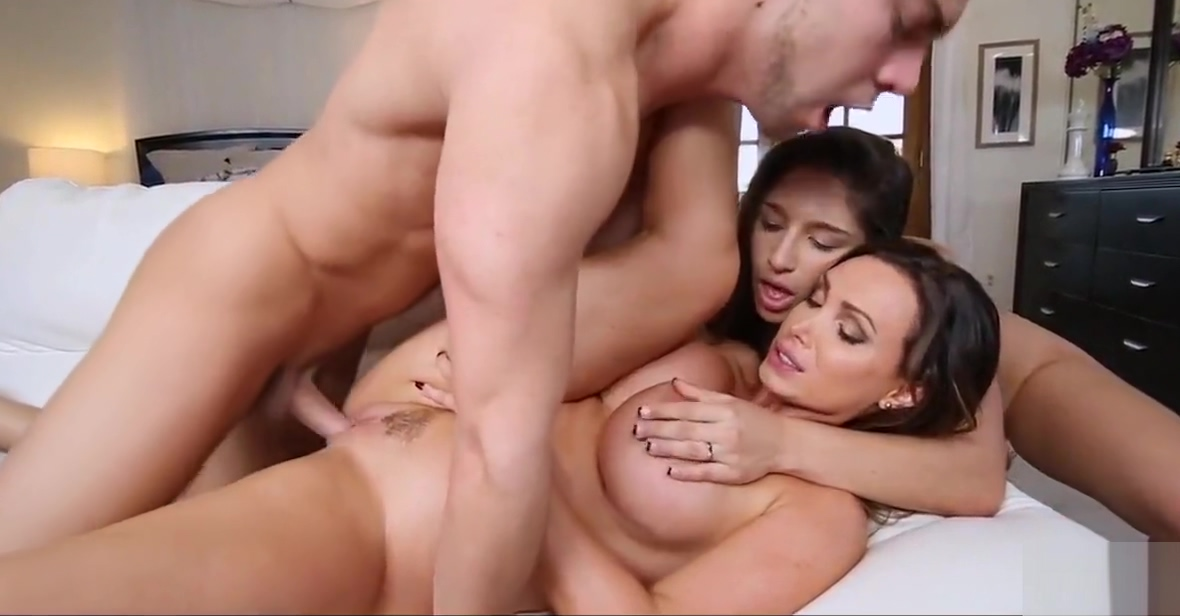 Dick Loving Stepmom and Teen Mega man roll naked