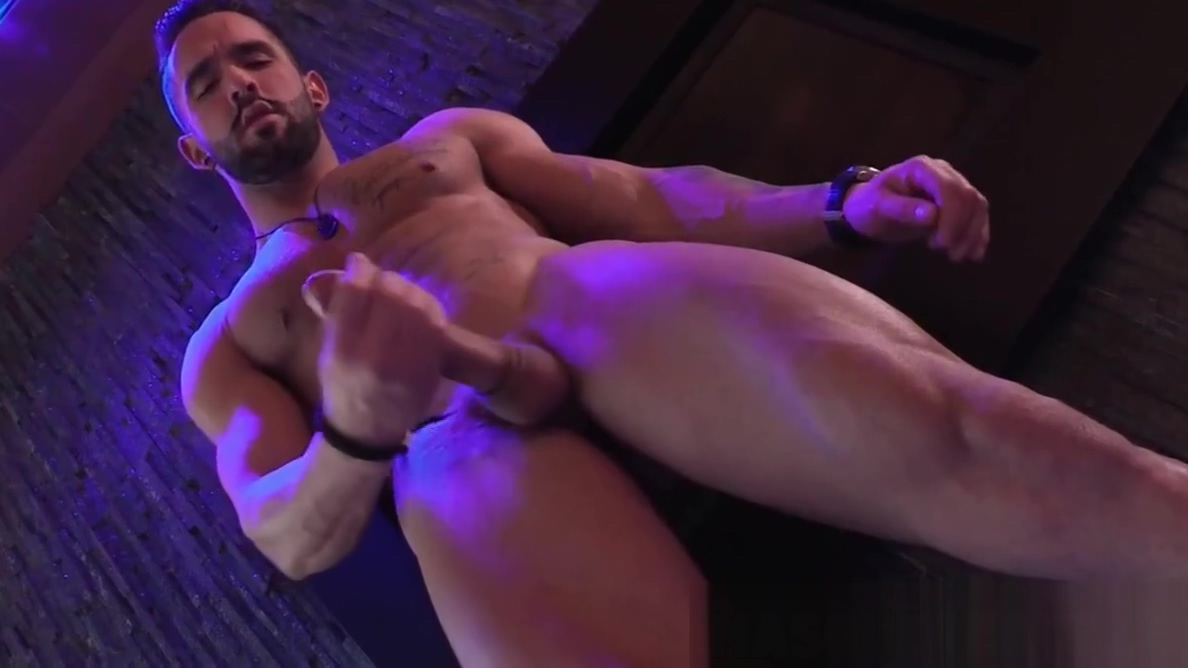 Bearded gay hunk goes to his retreat to jerk off alone free porn video no joining